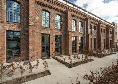 Historic Worsted spinning mill with UdiIN RECO interior insulation system