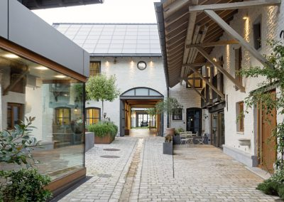 Renovation of a foursided courtyard in Aachen with UdiIN